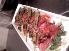 黒毛和牛BAKURO スタッフブログ~福岡市の焼肉屋-カルパッチョサラダ